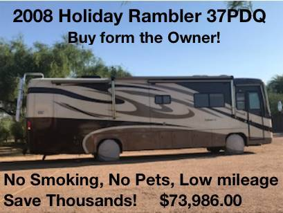 2008 Holiday Rambler Neptune 37PDQ for sale in North America, AZ