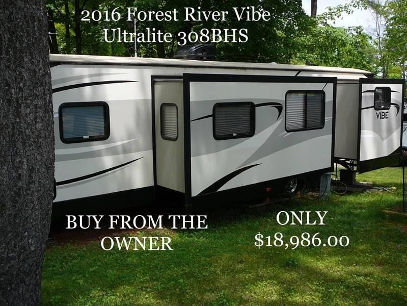 2016 Forest River Vibe UltraLite 308BHS - North America AZ