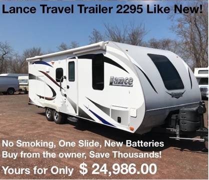 2016 Lance travel trailer 2295 for sale in North America, AZ