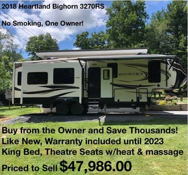 2018 Heartland Big Horn 3270RS for sale in North America, AZ