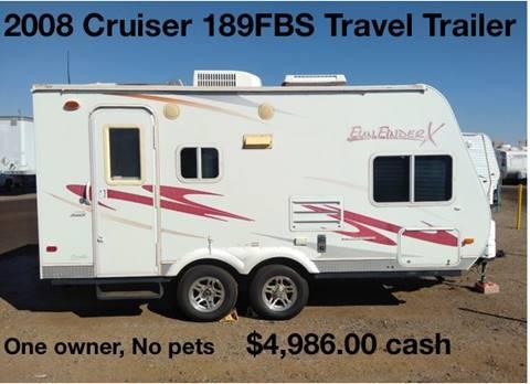 2008 Cruiser RV Fun Finder 189FBS for sale in North America, AZ