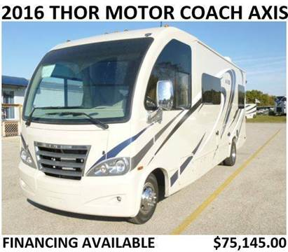 2016 Thor Industries Motor Coach Axis 25.2
