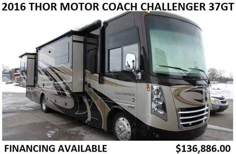 2016 Thor Industries Motor Coach Challenger 37GT