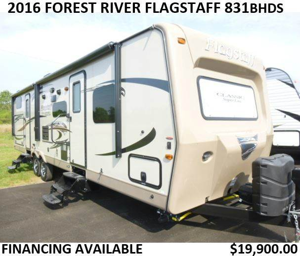 2016 Forest River Flagstaff Classic Super Lite 831BHDS - Tucson AZ
