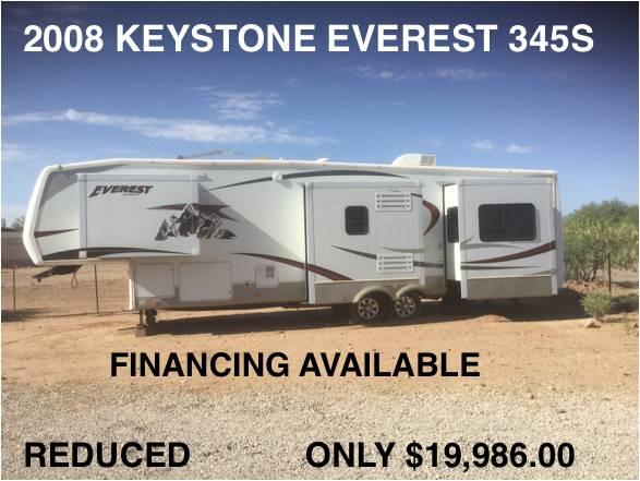 2008 Keystone Everest 345S  - Tucson AZ