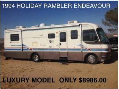 1994 Holiday Rambler Endeavour 32CB - Tucson AZ
