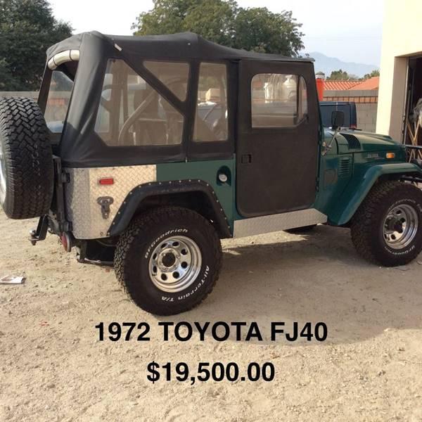 1972 Toyota Land Cruiser FJ40 - Tucson AZ