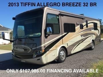 2013 Tiffin Allegro Breeze