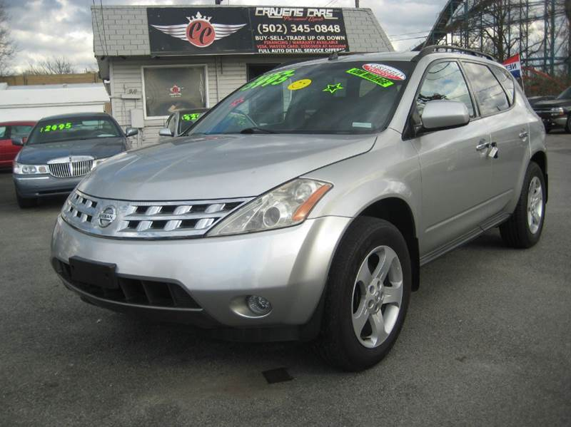 2003 Nissan Murano for sale at Craven Cars in Louisville KY