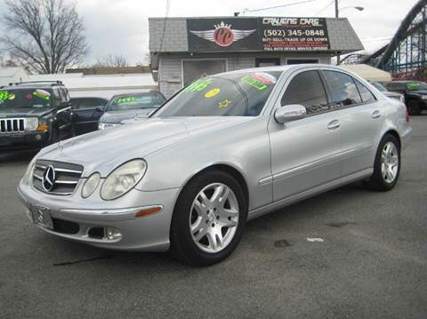 2003 Mercedes-Benz E-Class for sale at Craven Cars in Louisville KY