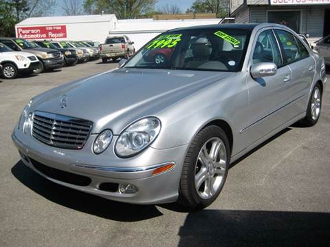 2004 Mercedes-Benz E-Class for sale at Craven Cars in Louisville KY