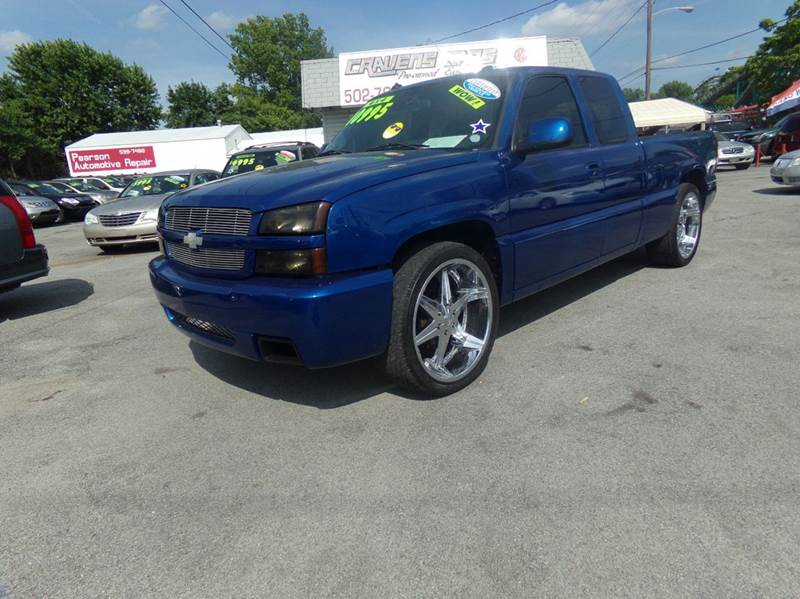 2003 Chevrolet Silverado 1500 SS for sale at Craven Cars in Louisville KY