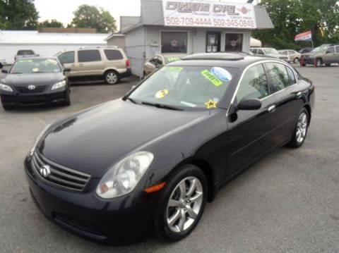 2006 Infiniti G35 for sale at Craven Cars in Louisville KY