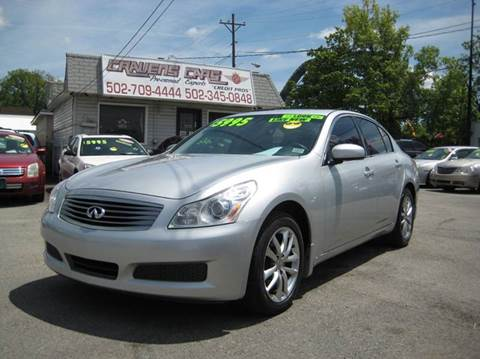 2007 Infiniti G35 for sale at Craven Cars in Louisville KY