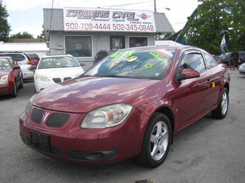 2009 Pontiac G5 for sale at Craven Cars in Louisville KY