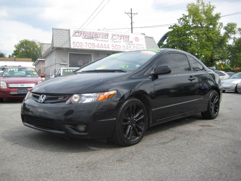 Perfect 2008 Honda Civic Si 2dr Coupe   Louisville KY