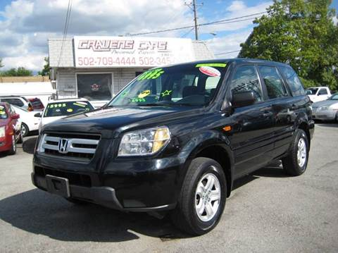 2006 Honda Pilot for sale at Craven Cars in Louisville KY
