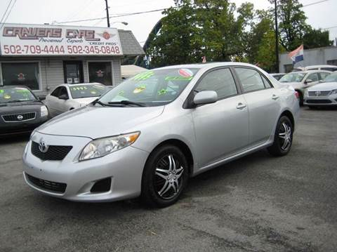 2009 Toyota Corolla for sale at Craven Cars in Louisville KY