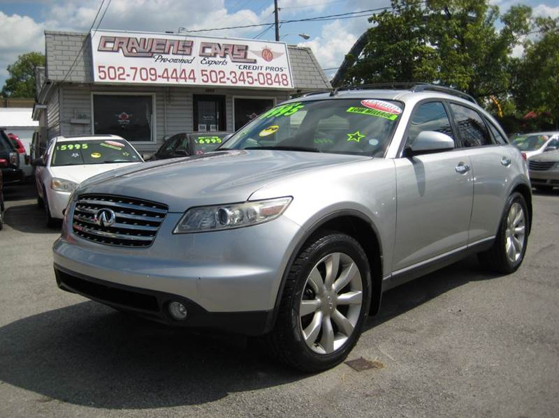 2003 Infiniti FX45 for sale at Craven Cars in Louisville KY