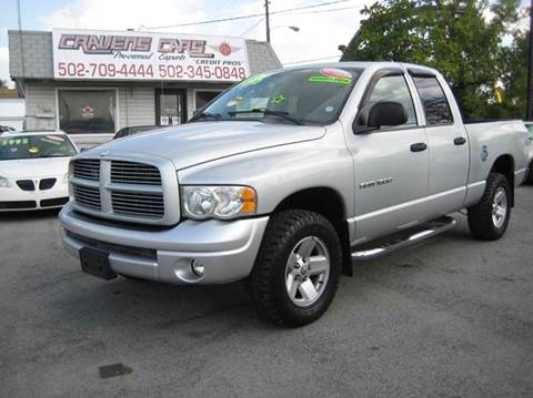2003 Dodge Ram Pickup 1500 for sale at Craven Cars in Louisville KY
