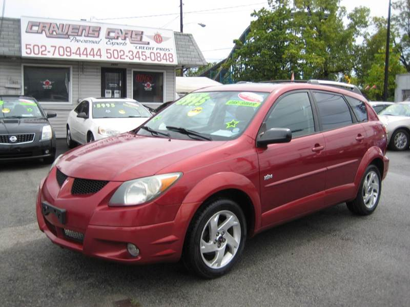 2004 Pontiac Vibe for sale at Craven Cars in Louisville KY