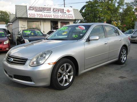 2005 Infiniti G35 for sale at Craven Cars in Louisville KY