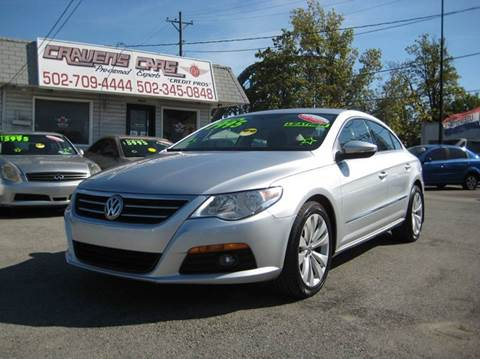 2010 Volkswagen CC for sale at Craven Cars in Louisville KY