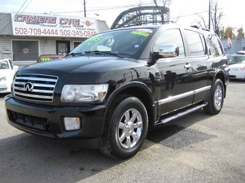 2005 Infiniti QX56 for sale at Craven Cars in Louisville KY