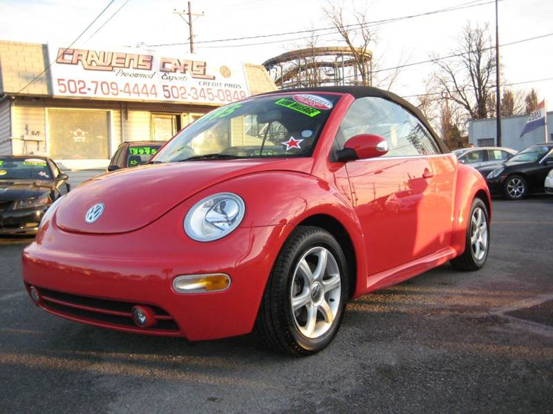 2004 Volkswagen New Beetle for sale at Craven Cars in Louisville KY