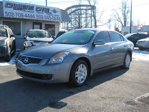 2009 Nissan Altima for sale at Craven Cars in Louisville KY