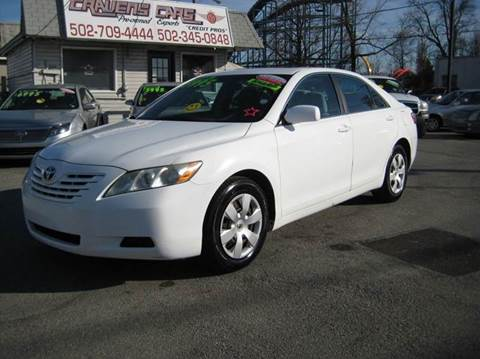 2008 Toyota Camry for sale at Craven Cars in Louisville KY