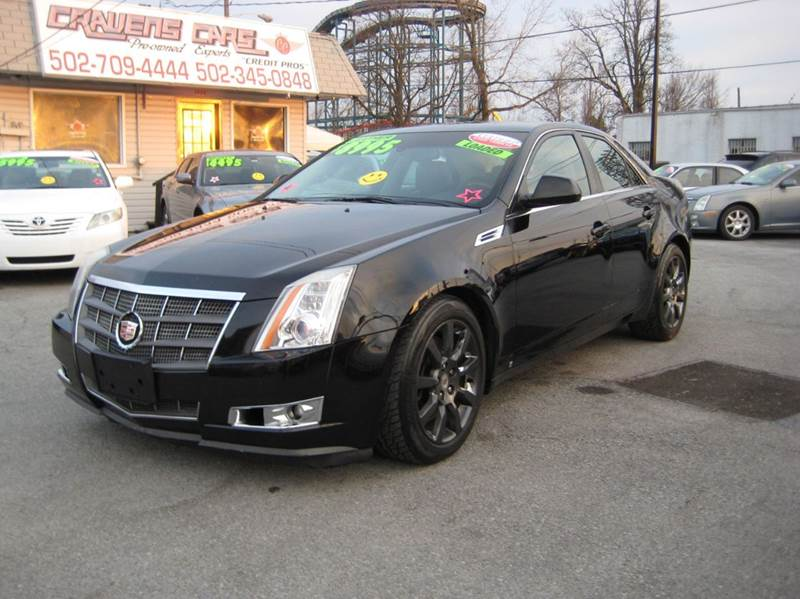 2008 Cadillac CTS for sale at Craven Cars in Louisville KY