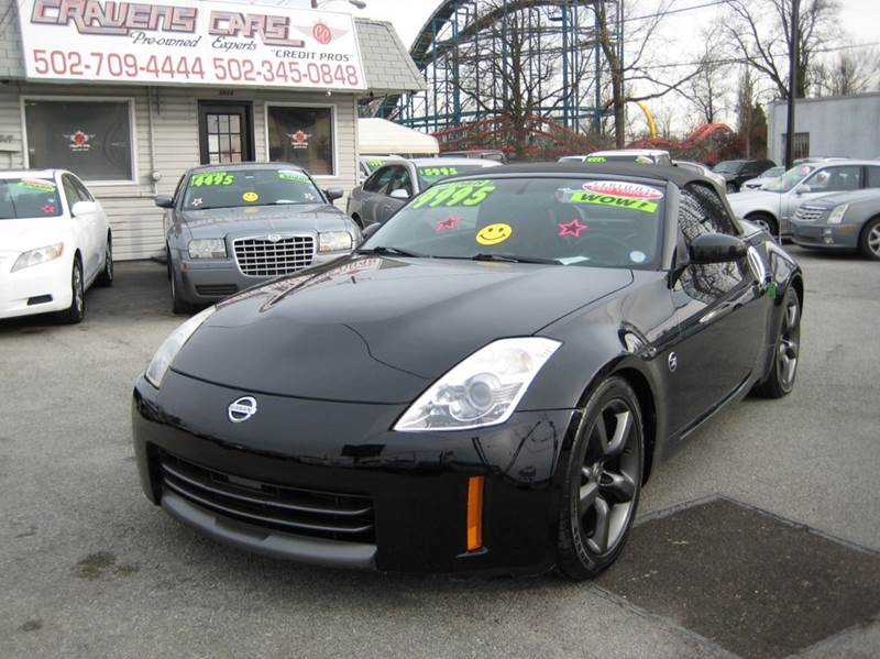 2008 Nissan 350Z for sale at Craven Cars in Louisville KY
