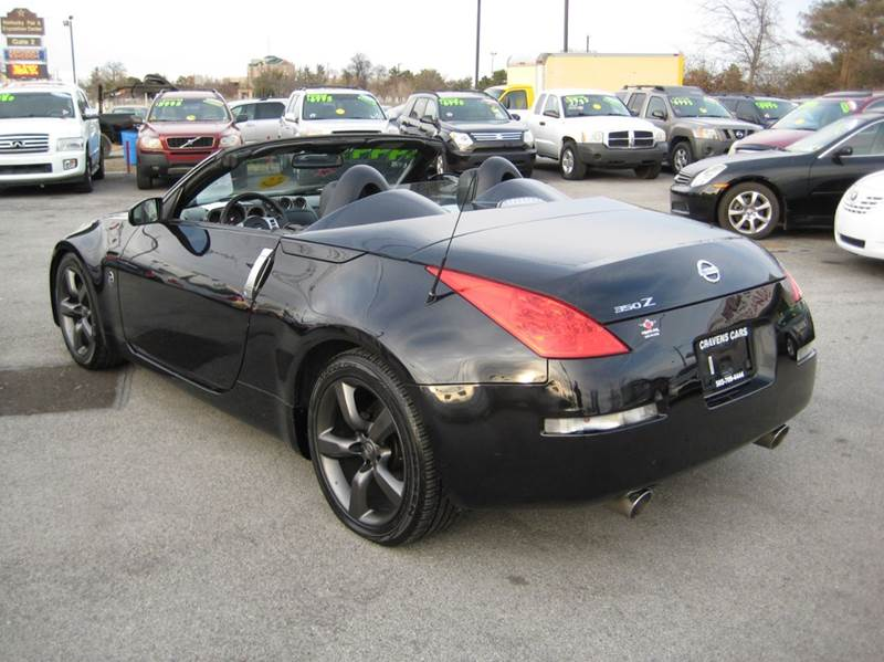 2008 nissan 350z grand touring 2dr convertible 5a in louisville ky craven cars. Black Bedroom Furniture Sets. Home Design Ideas