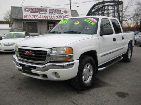 2004 GMC Sierra 1500 for sale at Craven Cars in Louisville KY