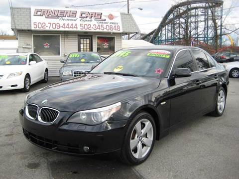 2006 BMW 5 Series for sale at Craven Cars in Louisville KY