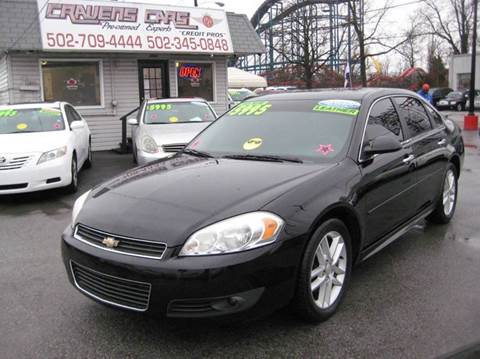 2010 Chevrolet Impala for sale at Craven Cars in Louisville KY