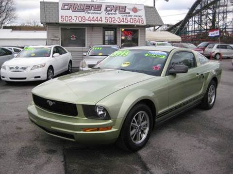 2005 Ford Mustang for sale at Craven Cars in Louisville KY