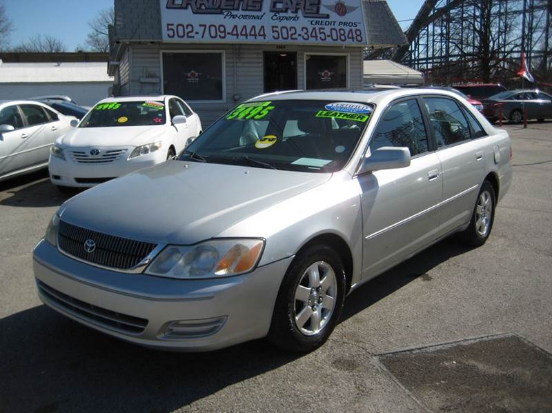 2000 Toyota Avalon for sale at Craven Cars in Louisville KY