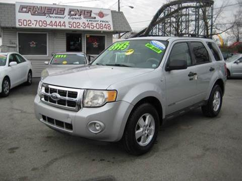 2008 Ford Escape for sale at Craven Cars in Louisville KY