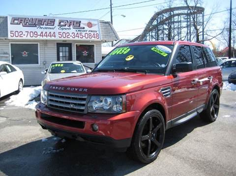 2008 Land Rover Range Rover Sport for sale at Craven Cars in Louisville KY