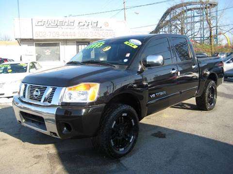 2009 Nissan Titan for sale at Craven Cars in Louisville KY