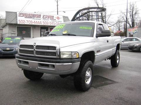 2002 Dodge Ram Pickup 2500 for sale at Craven Cars in Louisville KY