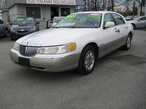 2000 Lincoln Town Car for sale at Craven Cars in Louisville KY