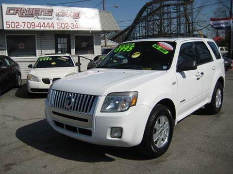 2008 Mercury Mariner for sale at Craven Cars in Louisville KY