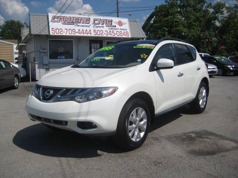 2011 Nissan Murano AWD SL 4dr SUV   Louisville KY