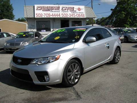 2013 Kia Forte Koup for sale at Craven Cars in Louisville KY