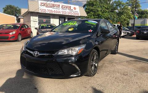 2015 Toyota Camry for sale at Craven Cars in Louisville KY