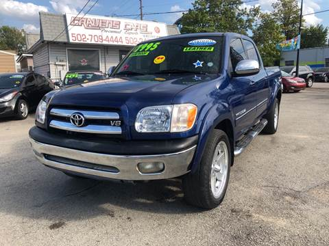2005 Toyota Tundra for sale at Craven Cars in Louisville KY