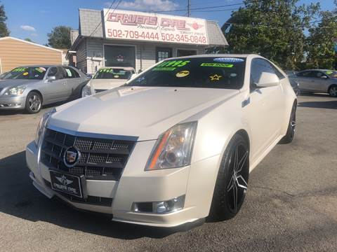 2011 Cadillac CTS for sale in Louisville, KY